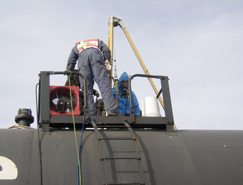 Railcar Fuel Removal