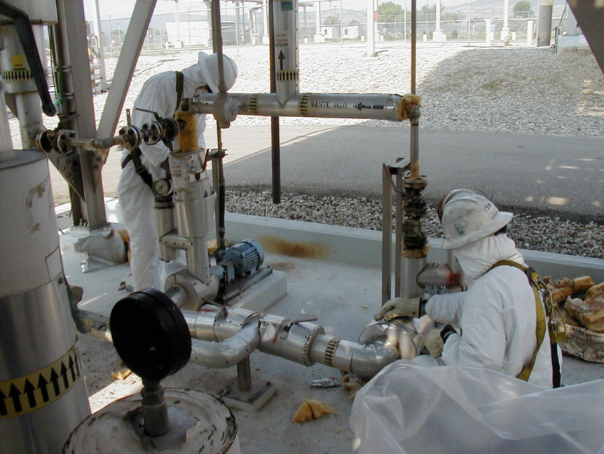 Chemical Tank Decontamination and Removal