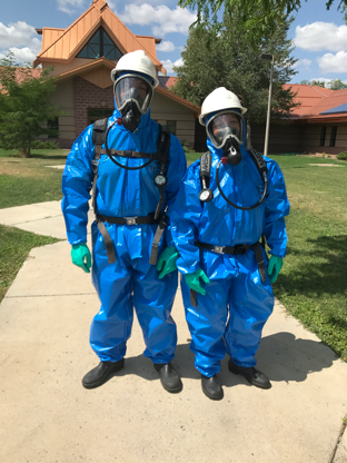 HAZWOPER Training Students
