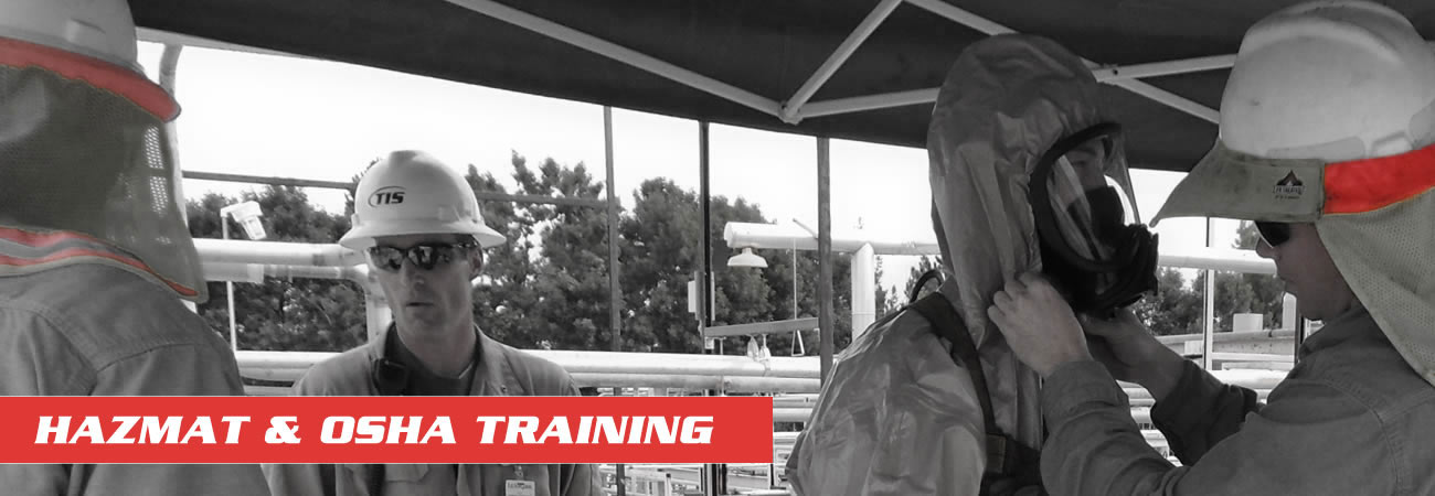 Hazmat and OSHA Training