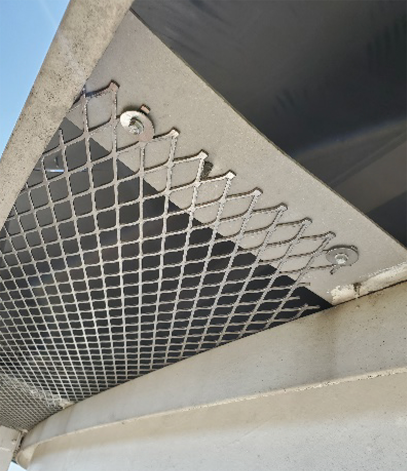 finished vent repair photo